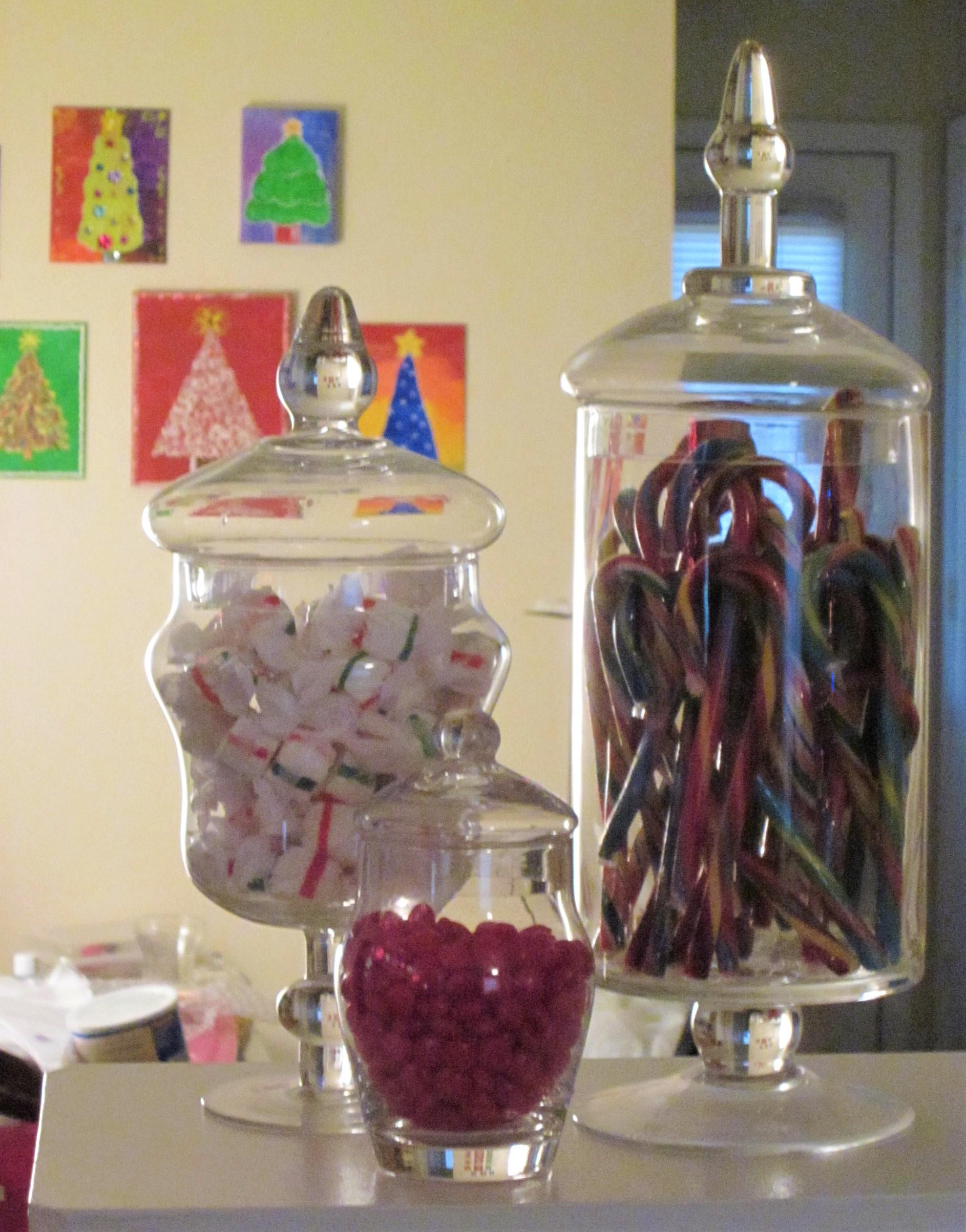 old photo trees behind candy jars.jpg