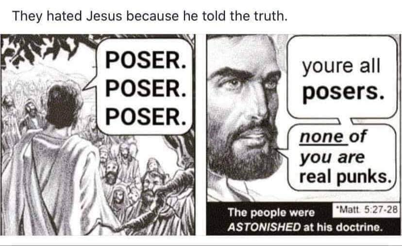 Jesus thinks you're a twat